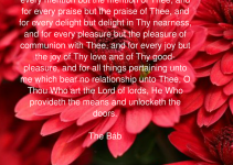 Uplifting Prayer – I Beg Thee To Forgive Me O My Lord For Every Mention But The Mention Of Thee